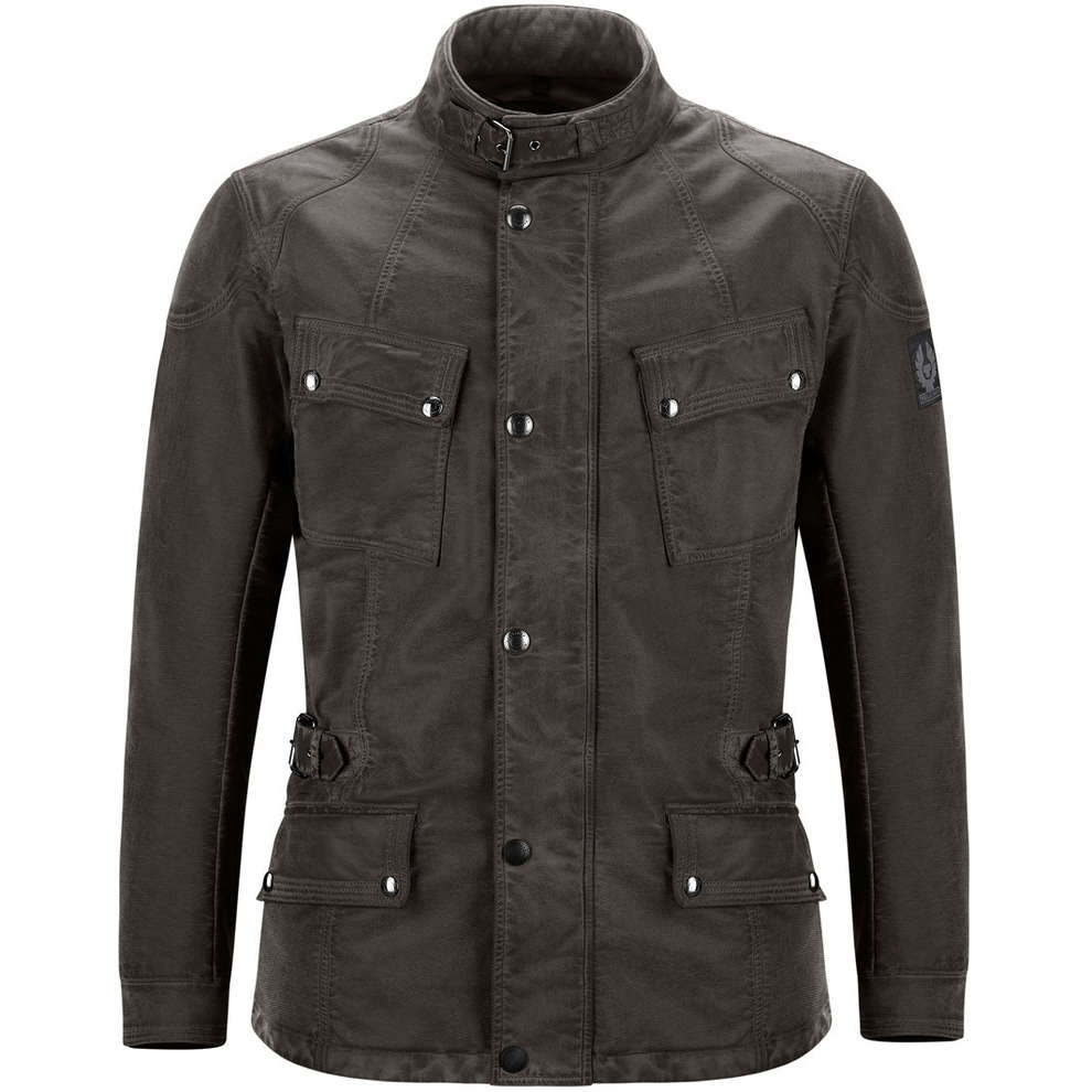 Crosby Air Burnished Brown Jacket Belstaff