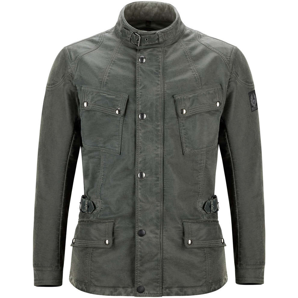 Crosby Air Burnished Green Jacket Belstaff