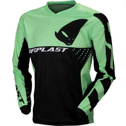 Cross Division Jersey Black Green Ufo