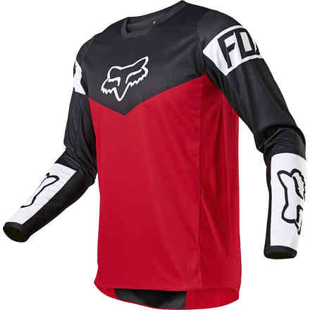 Cross Fx 180 Revn Jersey Flame Red clothing Fox