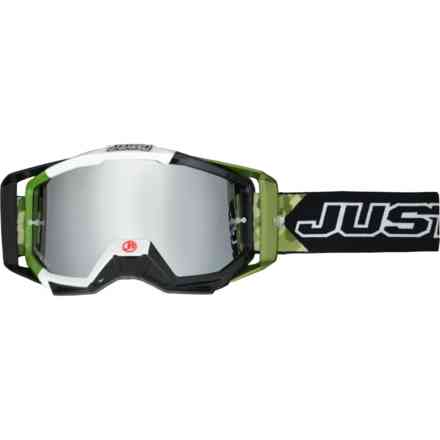 Cross goggles Iris Army Mirror Lens Just1