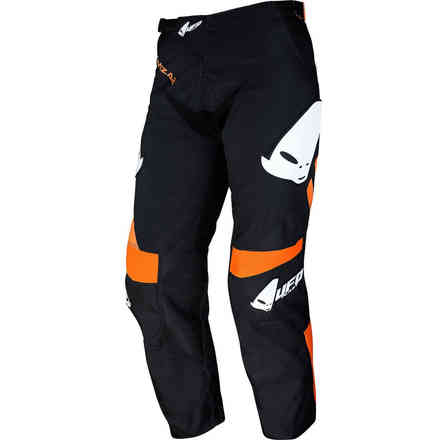 Cross Pants Mizar boy Schwarz Orange Ufo
