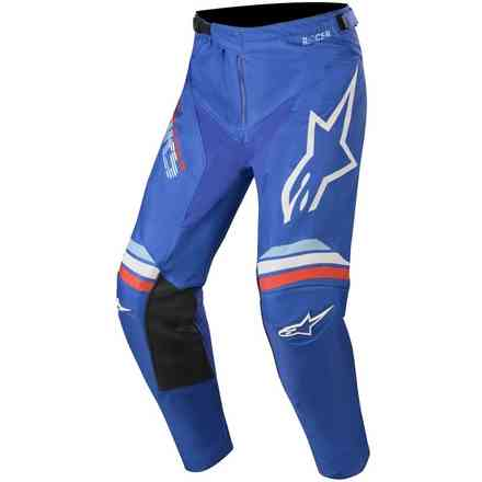 Cross Racer Braap pants blue white Alpinestars
