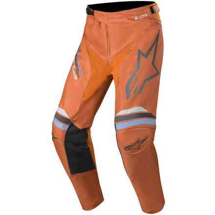 Cross Racer Braap pants dark gray orange fluo Alpinestars