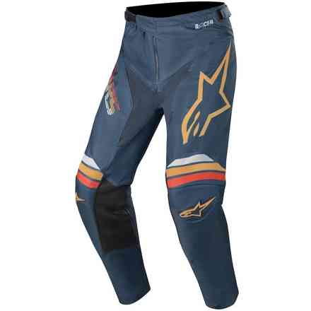 Cross Racer Braap pants navy orange Alpinestars