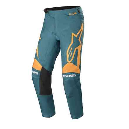 Cross Racer Supermatic pants petrol orange Alpinestars