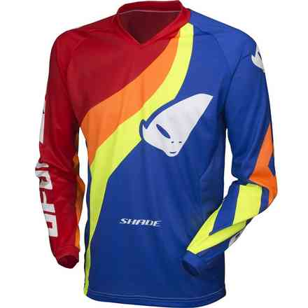 Cross Shade Jersey Blau Rot Ufo