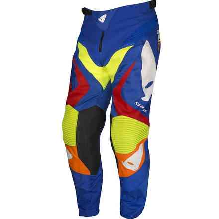 Cross Shade Pants Blue Yellow Red Ufo