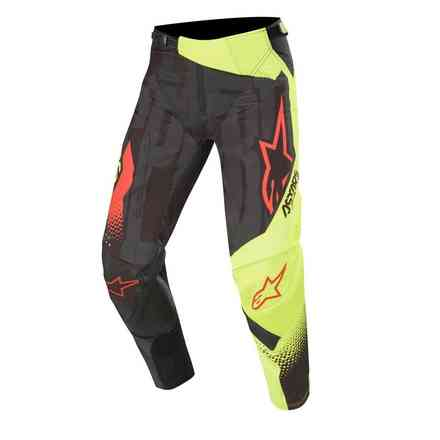Cross Techstar Factory pants black yellow fluo red fluo Alpinestars