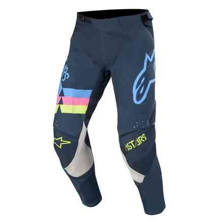 Cross Techstar Venom pants navy aqua pink fluo Alpinestars