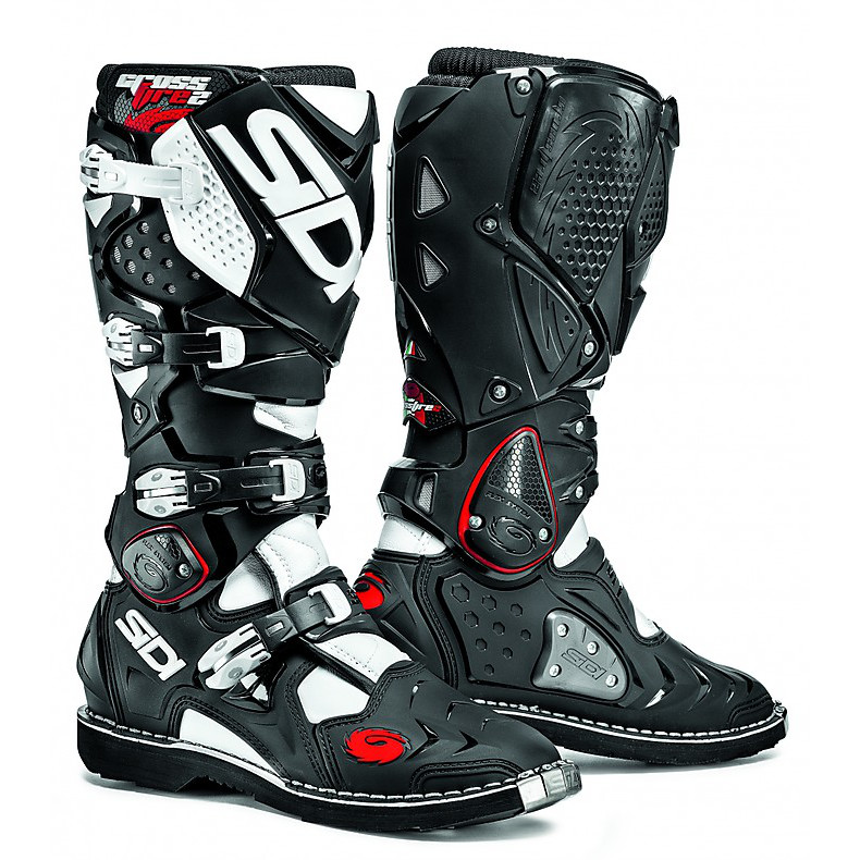 Crossfire 2 black-white Boots Sidi