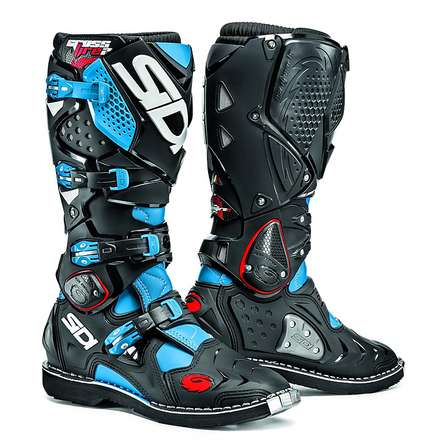 Crossfire 2 light blue-black Boots Sidi
