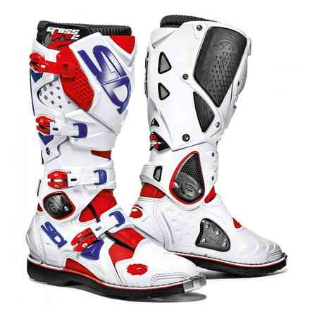 Crossfire 2 Red White Blue Helmet Sidi