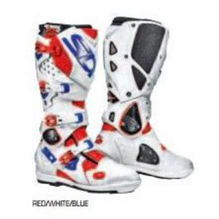 Crossfire 2 Srs Boots red/white/blue Sidi