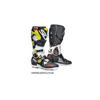 Crossfire 2 Srs Boots white/black/fluo yellow Sidi