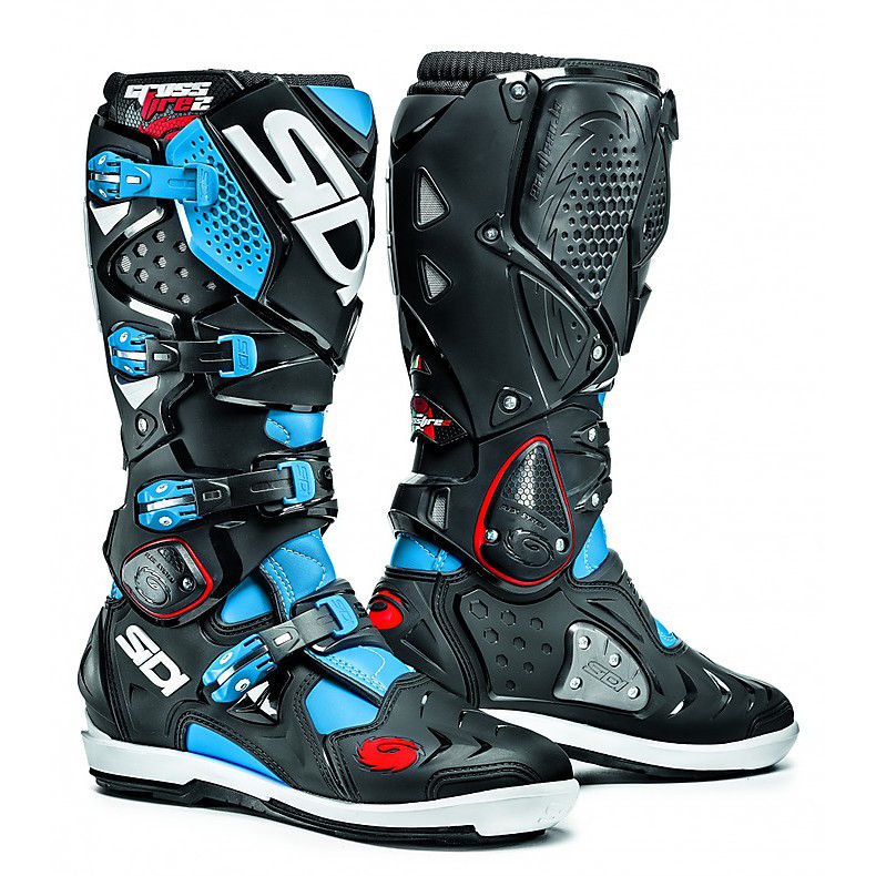 Crossfire 2 Srs light blue-black Boots Sidi