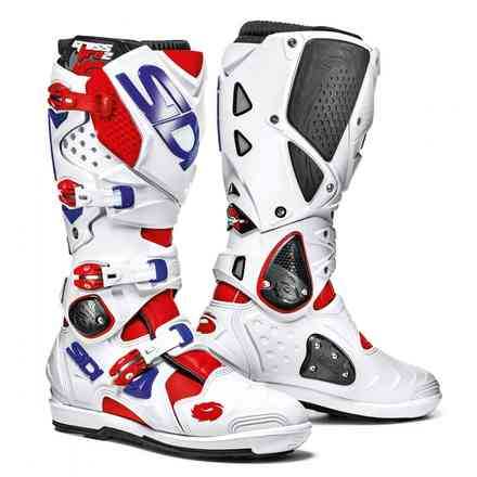Crossfire 2 Srs Red White Blue Boots Sidi