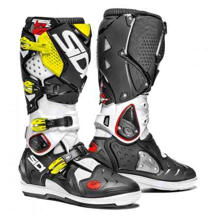 Crossfire 2 Srs white black yellow fluo Boots Sidi