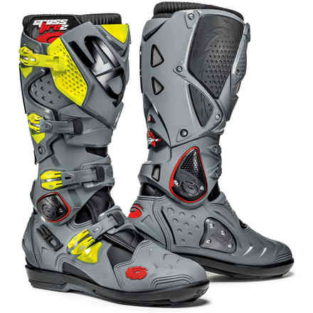 Crossfire 2 Srs yellow fluo grey Boots Sidi
