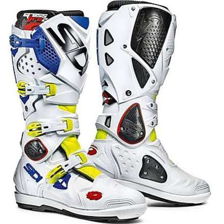 Crossfire 2 Srs Yellow Fluo-White-Blue Boots Sidi