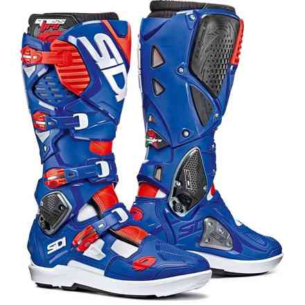 Crossfire 3 Boots Blue / Red / White Sidi