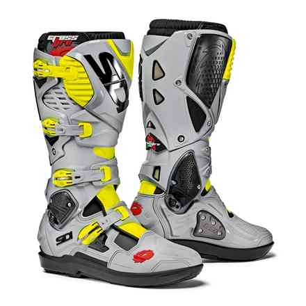 Crossfire 3 Srs black grey yellow fluo Boots Sidi