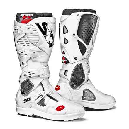 Crossfire 3 Srs White Boots Sidi