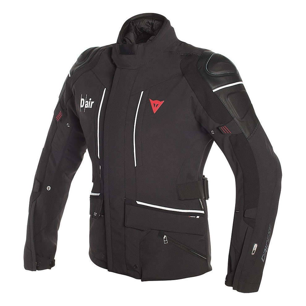 Cyclone D-Air jacket black white Dainese