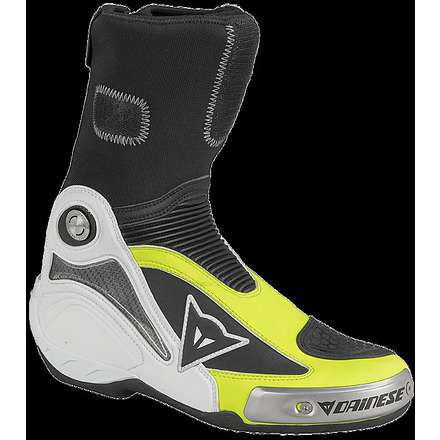 Démarrage Axial Pro In noir-jaune fluo Dainese