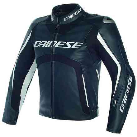 D-Air Misano jacket black white Dainese