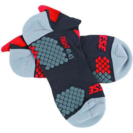 D-core Footie Socks black red Dainese
