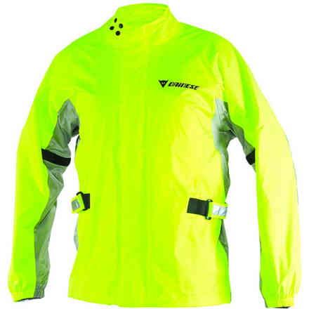 D-Crust Plus yellow fluo jacket Dainese