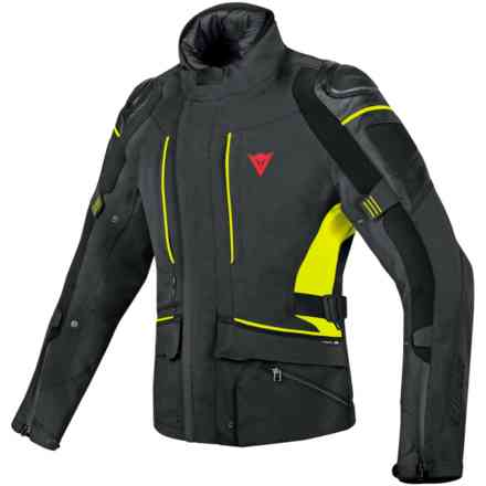 D-Cyclone Gtx jacket black yellow fluo Dainese
