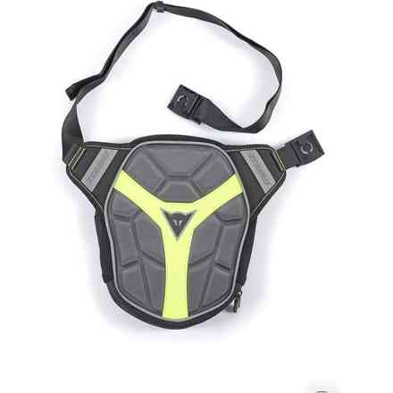 D-exchange Leg Bag black anthracite yellow fluo Dainese