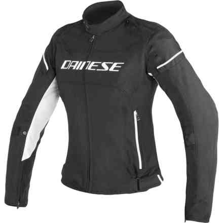 D-Frame Tex jacket Lady black white Dainese