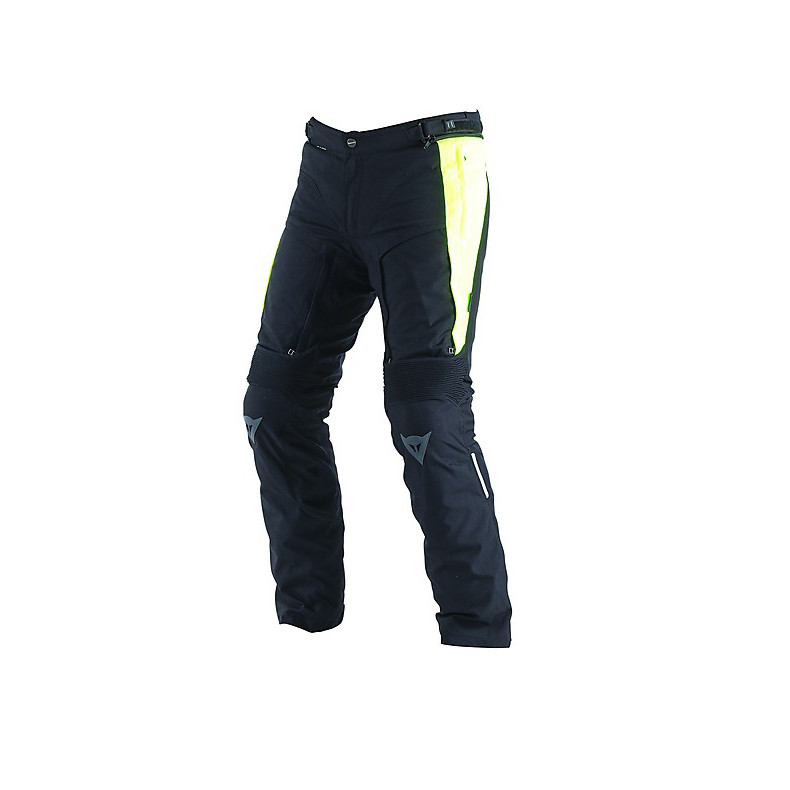 D-Stormer D-Dry  Pants Black-Yellow Fluo Dainese