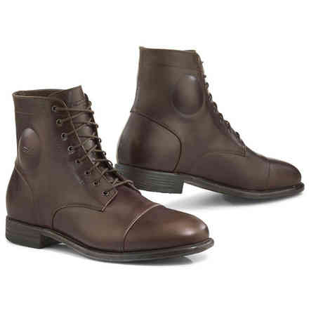 Dark brown Metropolitan shoes Tcx