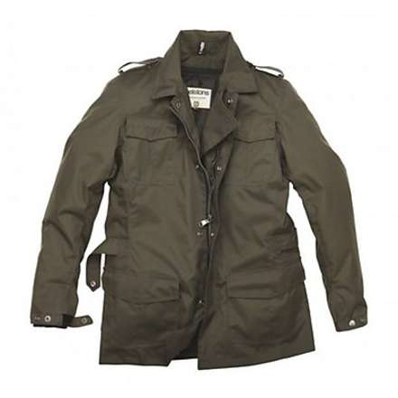 David Jacket Kaki Helstons