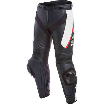 Delta 3 Perforated pant black white red Dainese