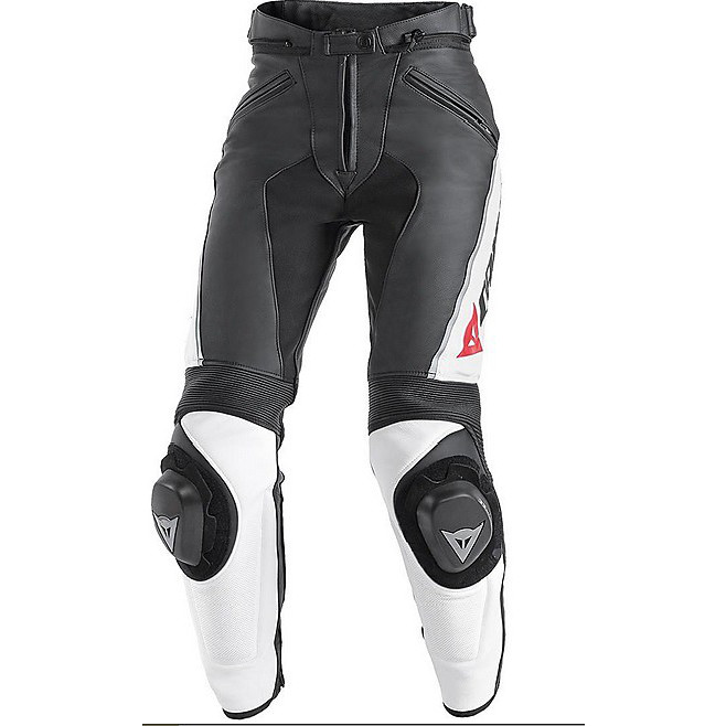 Delta Pro C2 Lady Pants black-white Dainese