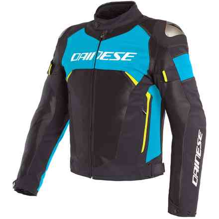 Dinamica Air D-Dry jacket black fire blue yellow fluo Dainese