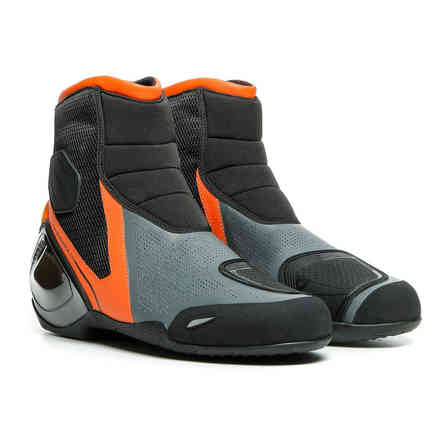 Dinamica Air shoes black flame orange anthracyte Dainese