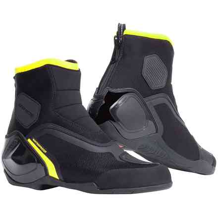 Dinamica D-Wp shoes black yellow fluo Dainese