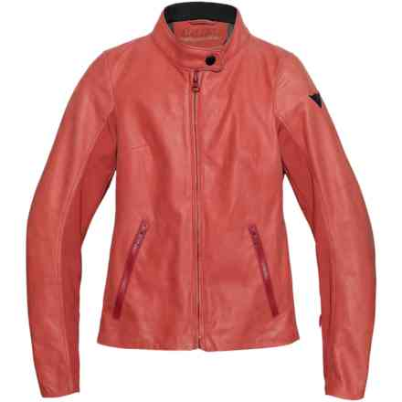 Djanet Lady jacket Dainese 72 Pompeian Red Dainese