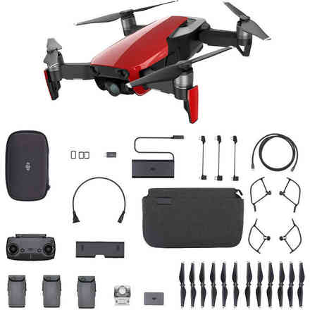 Dji Mavic Air Fly More Combo Flame DJI