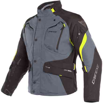 Dolomiti Gtx jacket Ebony black yellow fluo Dainese
