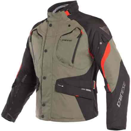 Dolomiti Gtx jacket Grape-Leaf black red Dainese