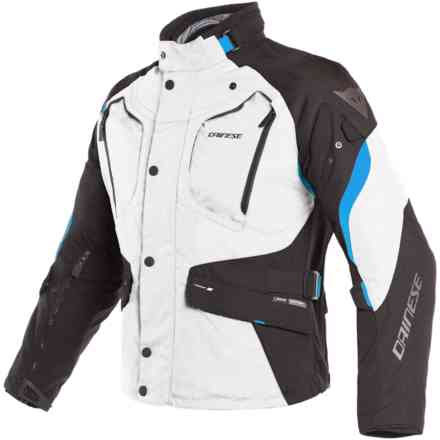 Dolomiti Gtx jacket Light Grey black electron blue Dainese