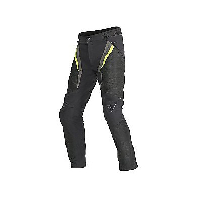 Drake Super Air Tex Lady  Pants Black-Yellow Fluo Dainese