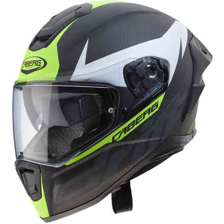 Drift Evo Carbon helmet Matt anthracyte yellow fluo Caberg